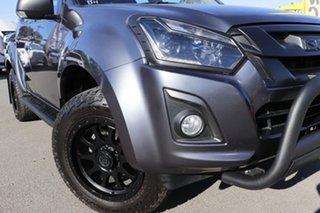 2019 Isuzu D-MAX MY19 LS-U Crew Cab 4x2 High Ride Obsidian Grey 6 Speed Sports Automatic Utility.