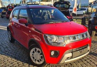 2021 Suzuki Ignis MF Series II GL Fervent Red 1 Speed Constant Variable Hatchback.