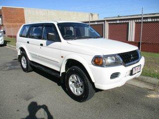 2004 Mitsubishi Challenger PA MY04 LS White 4 Speed Automatic Wagon.