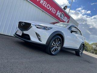 2016 Mazda CX-3 DK4W7A Akari SKYACTIV-Drive i-ACTIV AWD White 6 Speed Sports Automatic Wagon.