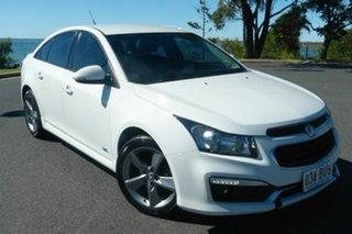 2016 Holden Cruze JH Series II MY16 SRI Z-Series White 6 Speed Sports Automatic Sedan.