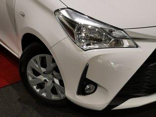 2017 Toyota Yaris NCP131R SX Glacier 4 Speed Automatic Hatchback.