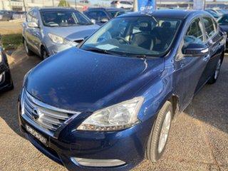 2012 Nissan Pulsar B17 ST Blue 1 Speed Constant Variable Sedan.