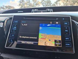 2015 Toyota Hilux GUN126R SR5 Double Cab Blue 6 Speed Sports Automatic Utility