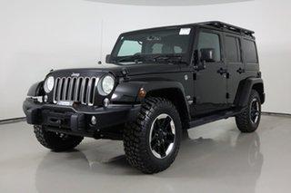 2017 Jeep Wrangler Unlimited JK MY17 Overland (4x4) Black 5 Speed Automatic Hardtop.