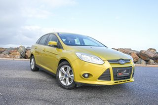 2011 Ford Focus LW Trend PwrShift Gold 6 Speed Sports Automatic Dual Clutch Sedan.