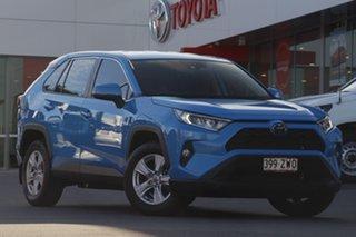 2020 Toyota RAV4 Mxaa52R GX 2WD Blue 10 Speed Constant Variable Wagon.