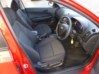 2009 Hyundai i30 FD MY09 SX Active Red 4 Speed Automatic Hatchback