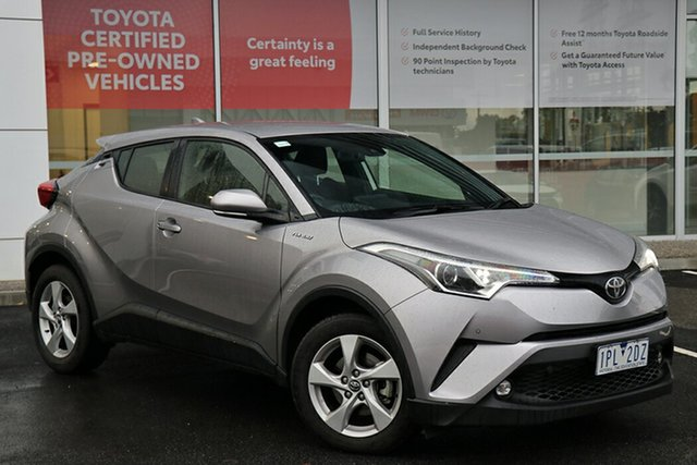 Pre-Owned Toyota C-HR NGX50R S-CVT AWD South Morang, 2019 Toyota C-HR NGX50R S-CVT AWD Shadow Platinum 7 Speed Constant Variable Wagon