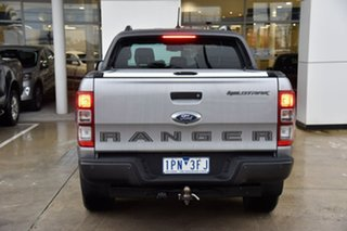 2019 Ford Ranger PX MkIII 2019.75MY Wildtrak Silver 10 Speed Sports Automatic Double Cab Pick Up.