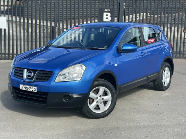 Used Nissan Dualis J10 MY2009 ST Hatch X-tronic Newcastle, 2009 Nissan Dualis J10 MY2009 ST Hatch X-tronic Blue 6 Speed Constant Variable Hatchback