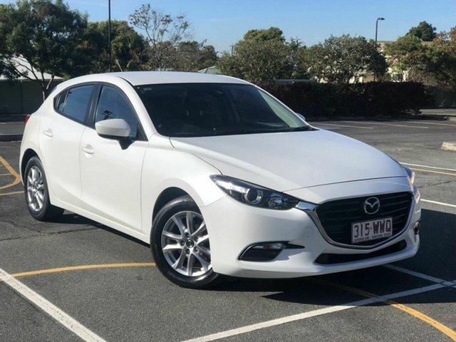 Used Mazda 3 BM5478 Neo SKYACTIV-Drive Chermside, 2016 Mazda 3 BM5478 Neo SKYACTIV-Drive White 6 Speed Sports Automatic Hatchback