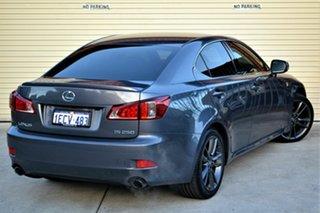 2013 Lexus IS GSE20R MY13 IS250 F Sport Grey 6 Speed Sports Automatic Sedan