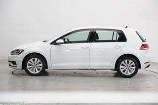2019 Volkswagen Golf 7.5 MY19.5 110TSI DSG Trendline Pure White 7 Speed Sports Automatic Dual Clutch.