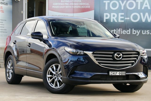 Pre-Owned Mazda CX-9 MY16 Touring (AWD) Guildford, 2016 Mazda CX-9 MY16 Touring (AWD) Blue 6 Speed Automatic Wagon