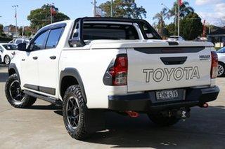2019 Toyota Hilux GUN126R 4x4 Crystal Pearl 6 Speed Automatic Dual Cab.