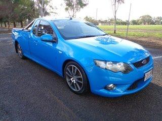 2011 Ford Falcon FG XR6 Ute Super Cab Limited Edition Blue 6 Speed Manual Utility.