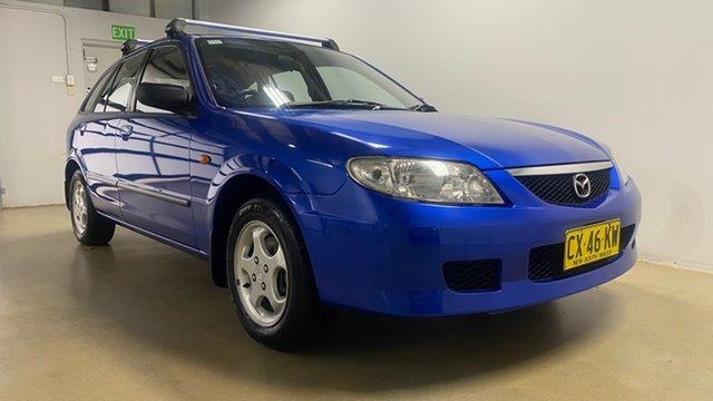 Used Mazda 323 Astina Phillip, 2003 Mazda 323 Astina Blue 5 Speed Manual Hatchback
