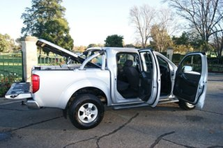 2007 Nissan Navara D40 ST-X (4x4) Silver 5 Speed Automatic Dual Cab Pick-up