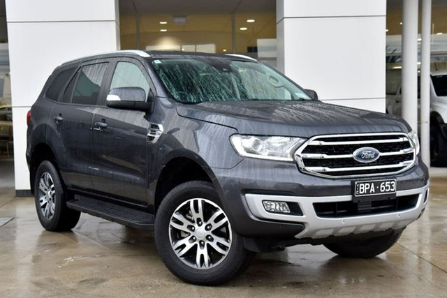 Used Ford Everest UA II 2020.25MY Trend Oakleigh, 2019 Ford Everest UA II 2020.25MY Trend Grey 10 Speed Sports Automatic SUV