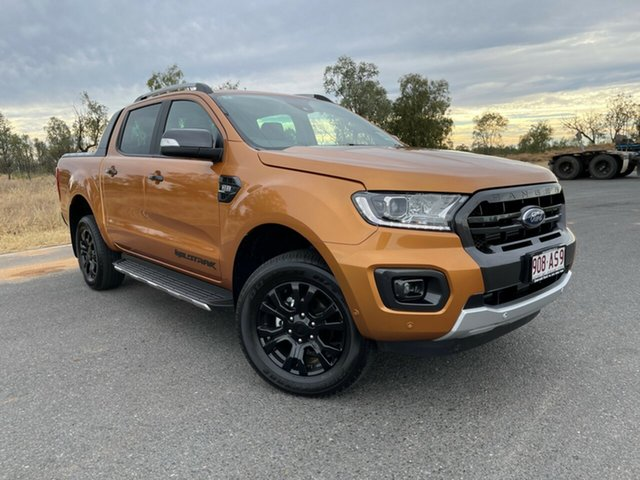 Used Ford Ranger PX MkIII 2021.25MY Wildtrak Emerald, 2021 Ford Ranger PX MkIII 2021.25MY Wildtrak Saber 6 Speed Sports Automatic Double Cab Pick Up