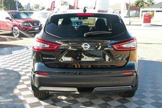 2021 Nissan Qashqai J11 Series 3 MY20 Ti X-tronic Pearl Black 1 Speed Constant Variable Wagon.