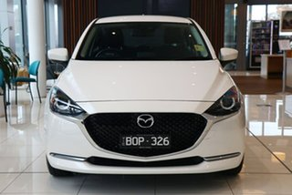 2021 Mazda 2 DJ2HAA G15 SKYACTIV-Drive Evolve Snowflake White 6 Speed Sports Automatic Hatchback.