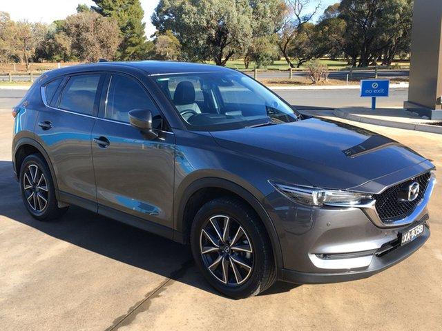 Used Mazda CX-5 KF4W2A GT SKYACTIV-Drive i-ACTIV AWD Berri, 2018 Mazda CX-5 KF4W2A GT SKYACTIV-Drive i-ACTIV AWD Machine Grey 6 Speed Sports Automatic Wagon