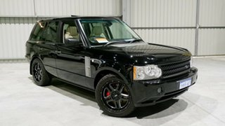 2008 Land Rover Range Rover Vogue L322 09MY TDV8 Luxury Black 6 Speed Sports Automatic Wagon.