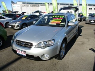 2004 Subaru Outback R Premium Silver 5 Speed Automatic Wagon.