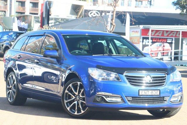 Used Holden Calais VF II MY16 V Sportwagon Zetland, 2016 Holden Calais VF II MY16 V Sportwagon Blue 6 Speed Sports Automatic Wagon
