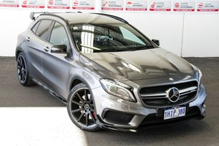 2016 Mercedes-Benz GLA-Class X156 807MY GLA45 AMG SPEEDSHIFT DCT 4MATIC Grey 7 Speed.