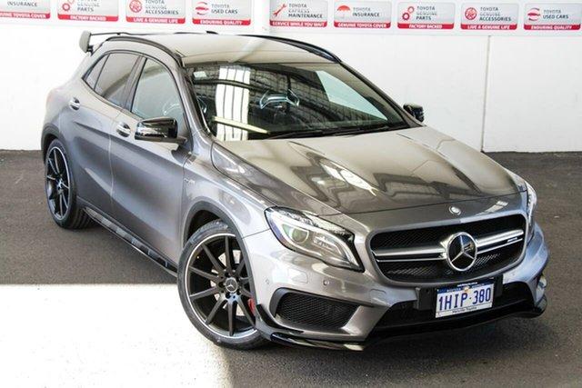 Pre-Owned Mercedes-AMG GLA 45 AMG 4MATIC X156 MY17 Myaree, 2016 Mercedes-AMG GLA 45 AMG 4MATIC X156 MY17 Grey 7 Speed Auto Dual Clutch Wagon
