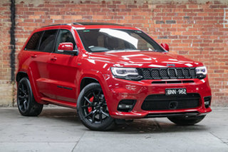 2020 Jeep Grand Cherokee WK MY20 SRT Red 8 Speed Sports Automatic Wagon.