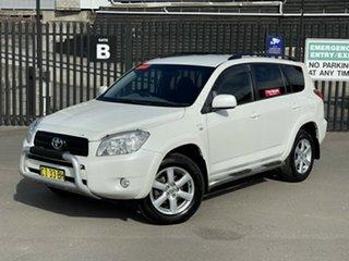 2007 Toyota RAV4 ACA33R Cruiser White 4 Speed Automatic Wagon.