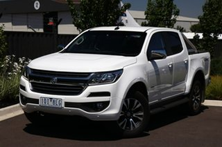2020 Holden Colorado RG MY20 LTZ Pickup Crew Cab White 6 Speed Sports Automatic Utility.