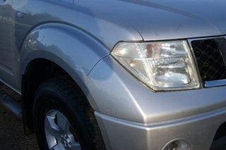 2007 Nissan Navara D40 ST-X (4x4) Silver 5 Speed Automatic Dual Cab Pick-up.
