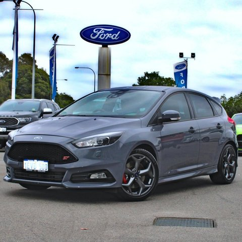 Used Ford Focus LZ ST Midland, 2015 Ford Focus LZ ST Grey 6 Speed Manual Hatchback
