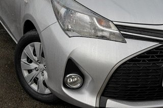 2014 Toyota Yaris NCP131R SX Silver 4 Speed Automatic Hatchback.