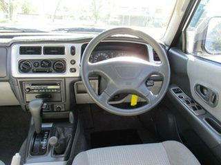 2004 Mitsubishi Challenger PA MY04 LS White 4 Speed Automatic Wagon