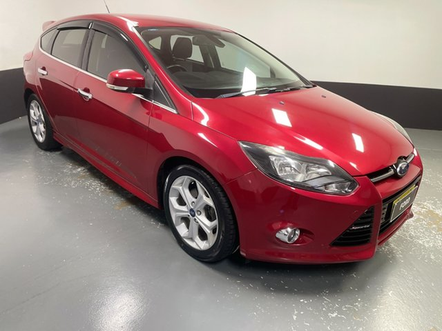 Used Ford Focus LW MkII Sport Rutherford, 2013 Ford Focus LW MkII Sport Burgundy 5 Speed Manual Hatchback