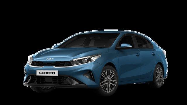 New Kia Cerato BD MY22 Sport+ St Marys, 2021 Kia Cerato BD MY22 Sport+ Mineral Blue 6 Speed Sports Automatic Sedan