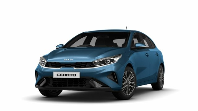 New Kia Cerato BD MY22 Sport St Marys, 2021 Kia Cerato BD MY22 Sport Mineral Blue 6 Speed Sports Automatic Hatchback