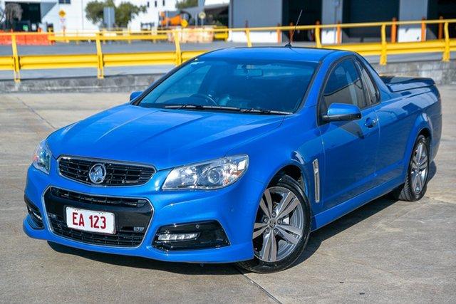 Used Holden Ute VF II MY16 SV6 Ute Hendra, 2015 Holden Ute VF II MY16 SV6 Ute Blue 6 Speed Sports Automatic Utility