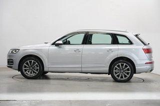 2016 Audi Q7 4M MY16 TDI Tiptronic Quattro Silver 8 Speed Sports Automatic Wagon.