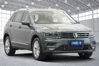 2018 Volkswagen Tiguan 5N MY19 132TSI DSG 4MOTION Comfortline Indium Grey 7 Speed.