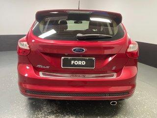 2013 Ford Focus LW MkII Sport Burgundy 5 Speed Manual Hatchback