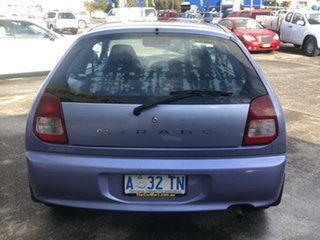 1998 Mitsubishi Mirage CE Blue 5 Speed Manual Hatchback