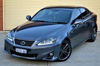 2013 Lexus IS GSE20R MY13 IS250 F Sport Grey 6 Speed Sports Automatic Sedan.