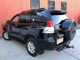 2012 Toyota Landcruiser Prado KDJ150R GXL Black 5 Speed Sports Automatic Wagon.